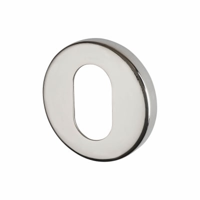 Altro Escutcheon - Oval - Polished Stainless Steel