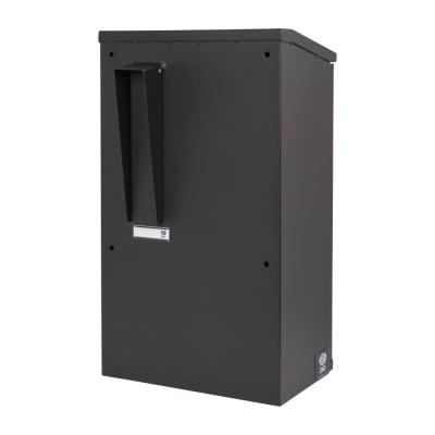 DAD Gate Mail Box - 550 x 300 x 215mm - Black
