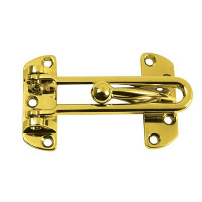 ERA® Door Restrictor - Brass Plated