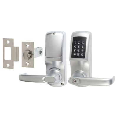 Codelock CL5510 Heavy Duty Bluetooth Smart Lock - Brushed Steel