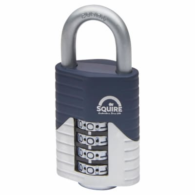 Squire Vulcan Combination Open Shackle Padlock - 50mm