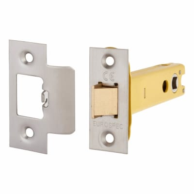 Altro Heavy Duty Tubular Latch - 103mm Case - 82mm Backset - Satin Stainless