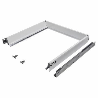 Blum TANDEMBOX ANTARO Drawer Pack - BLUMOTION Soft Close - (H) 84mm x (D) 550mm x (W) 800mm - White