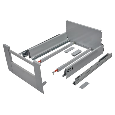 Blum TANDEMBOX ANTARO Internal Drawer - BLUMOTION - (H) 203mm x (D) 450mm x (W) 450mm - Grey