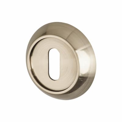 Elan Escutcheon - Keyhole - Satin Nickel