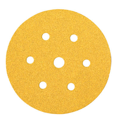 Mirka Gold Disc 7 Hole - 150mm - Grit 240 - Pack 100