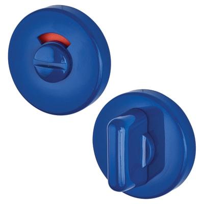 Hoppe Paris Coloured Nylon Bathroom Turn and Release 52 x 9mm - Cobalt Blue