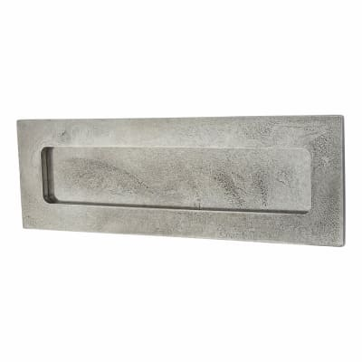 Finesse Letter Plate - 300 x 100mm - Pewter
