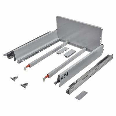 Blum TANDEMBOX ANTARO Pan Drawer - BLUMOTION Soft Close - (H) 203mm x (D) 450mm x (W) 400mm - Grey
