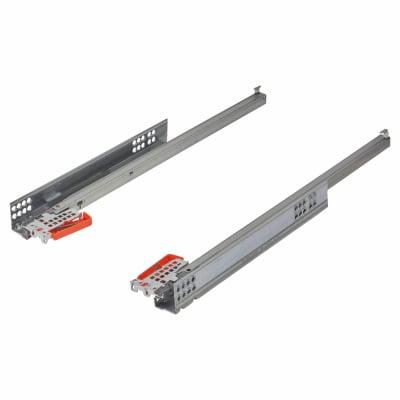 Blum TANDEM BLUMOTION Soft Close Drawer Runners - Single Extension - 450mm - 30kg
