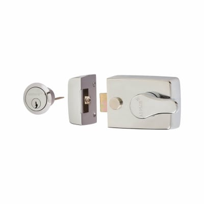 Arrone® Nightlatch - 60mm Backset - Polished Chrome Case/Cylinder