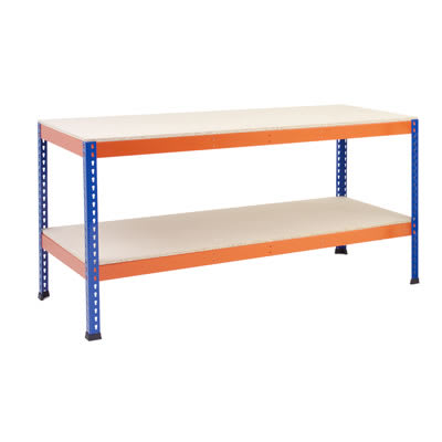 Rapid 1 Commercial Heavy Duty Workbench - 915 x 2440 x 760mm