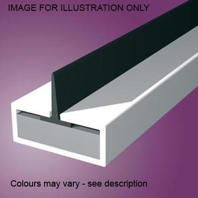 Pyroplex Single Centre Flipper Intumescent Strip - 20 x 4 x 2100mm - White - Pack 10