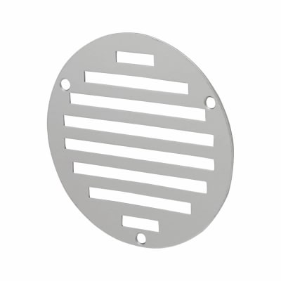 Circular Slotted Vent - 102mm - 1125mm2 Free Air Flow - Polished Stainless Steel