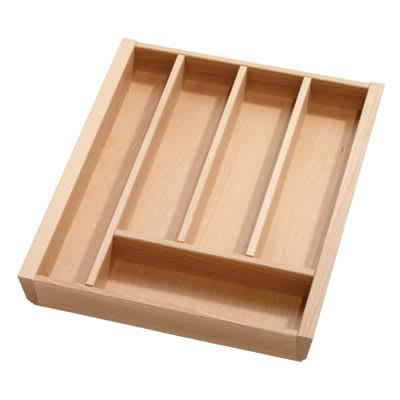 Cutlery Tray to Suit Tandembox - 450 x 450mm - Beech