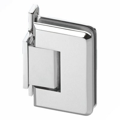 Wall Mount Shower Hinge - Single Sided - 6-8mm Glass