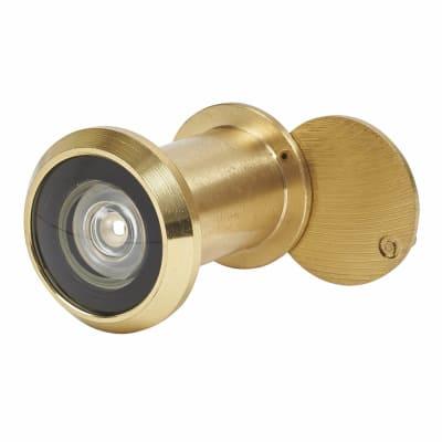 Big Eye Door Viewer - Door Thickness 40-60mm - Polished Brass