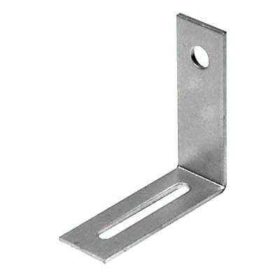 Adjustable Bracket - 55 x 55 x 19mm - Bright Zinc Plated - Pack 10