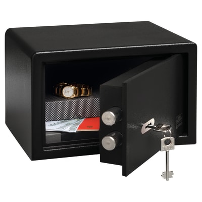 Burg Wächter P 1 S PointSafe Key Operated Safe - 180 x 280 x 200mm - Black
