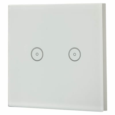 Ener-J Wi-fi Smart 2 Gang Touch Switch