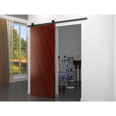 Barrierslide Ivan 2.0 Barn Strap Sliding Door Kit - 2000mm - Black