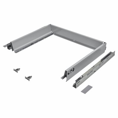 Blum TANDEMBOX ANTARO Drawer Pack - BLUMOTION Soft Close - (H) 84mm x (D) 450mm x (W) 600mm - Grey