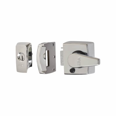 ERA® BS8621:2007 Keyless Egress Nightlatch - 40mm Backset - Polished Chrome