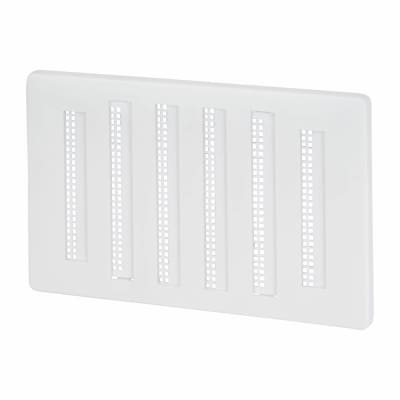 Hit & Miss Vent - 155 x 95mm - 2182mm2 Free Air Flow - White Plastic