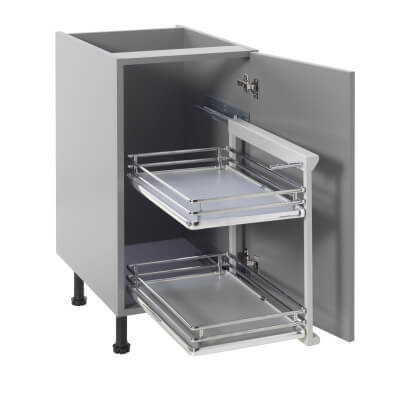 Base Pull Out Plus with Soft Close - Right Hand - Fits to Cabinet Width 300mm