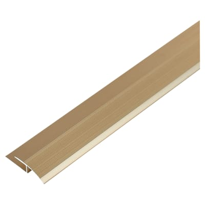 Curved Edge Trim - 900mm - Gold Anodised