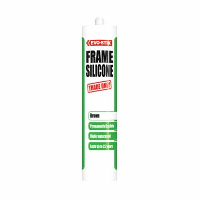 Evo-Stik Trade Frame Silicone - 290ml - Brown