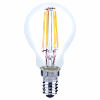 Integral LED 4W Mini Globe Filament Lamp - E14 - 2700K