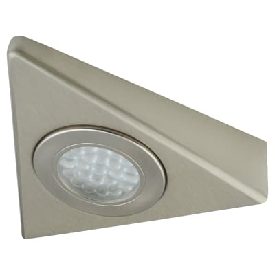 1.5W 240V LED Triangle Cabinet Light - Cool White