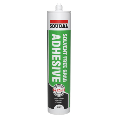 Soudal Grip All Adhesive - 290ml - Solvent Free
