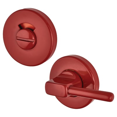 Hoppe Paris Coloured Nylon Disabled Bathroom Turn and Release 52 x 9mm - Rouge Red
