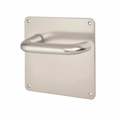 Altro 20mm Return to Door Handle - Latch Set - Aluminium