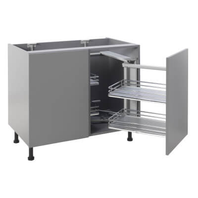 Soft Close Corner Organiser Plus - Right Hand - Fits to Cabinet Width 900/1000mm