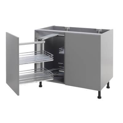 Soft Close Corner Organiser Plus - Left Hand - Fits to Cabinet Width 900/1000mm