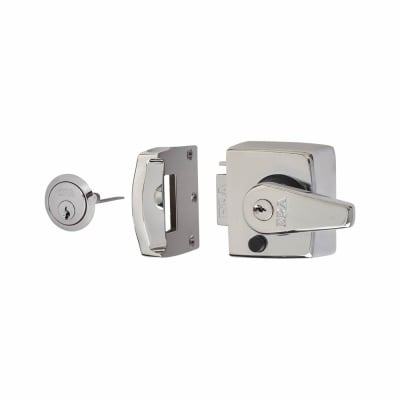 ERA® Double Locking Nightlatch - 40mm Backset - Polished Chrome