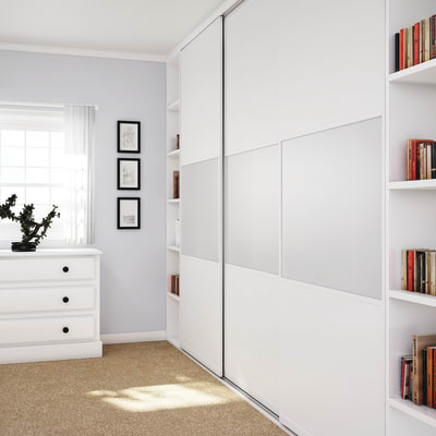 KLÜG Straight Sliding Cabinet 1.5m Track for 50kg Doors