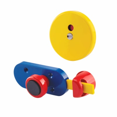 Indicator Bolt - Childsplay (Coloured) - 12-13mm Panels - Red/Yellow/Blue