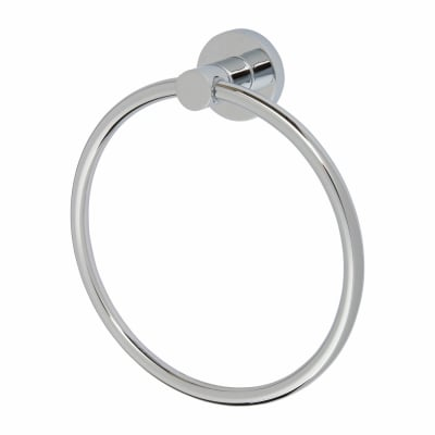 Nymas Style Towel Ring - Polished Chrome