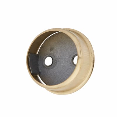 Invisifix End Socket Pack - 19mm - Brass Plated - Pack 2