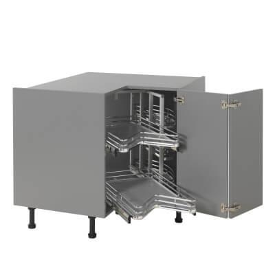 Ultimate Carousel Plus - Suit 900 x 900mm L Config Kitchen Corner Base Unit