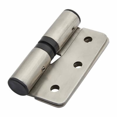 Cubicle Rise/Fall Hinges - Left Hand - 12-13mm Panels - 304 Stainless Steel