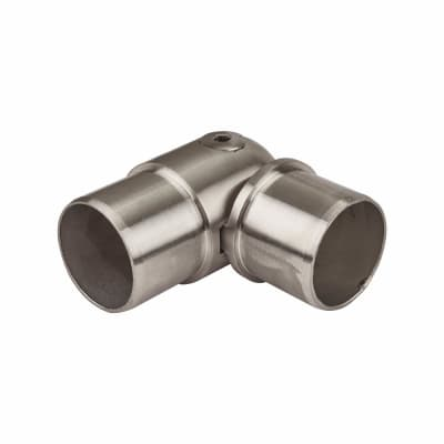 Balustrade Adjustable Elbow Connector - 304 Stainless Steel -Brushed Satin