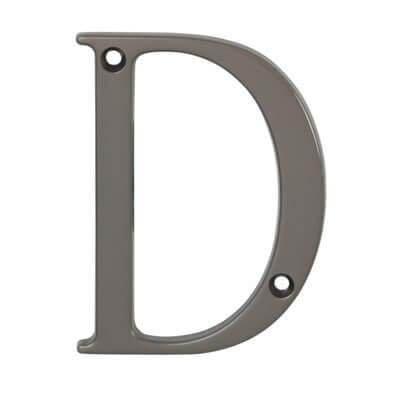 76mm Letter - D - Satin Bronze