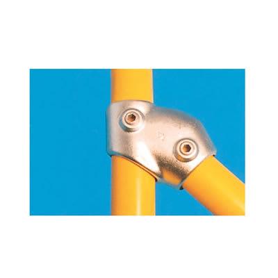 Tee Connector - Adjustable (30-60 degree) - Galvanised