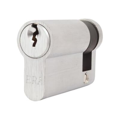 5 Pin Cylinder - Euro Single - 51mm - Nickel