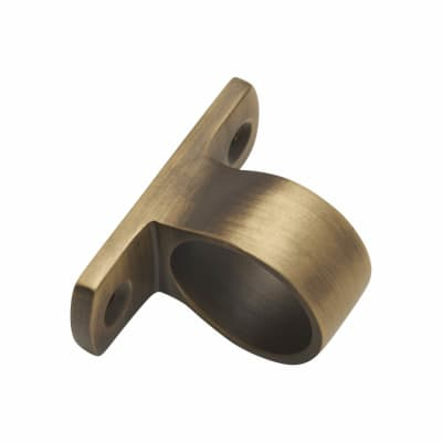 Standard Mounting Sash Lift Ring - 32mm - Antique Brass